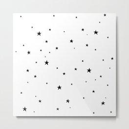 Tiny Stars Metal Print