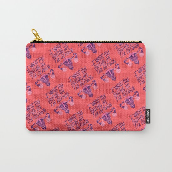 Ovaries Carry-All Pouch