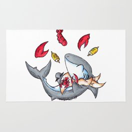 Lobstah Dinnah Rug