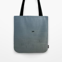Morning Blue: Mallard Tote Bag