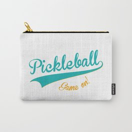Pickleball Old School Game On Carry-All Pouch