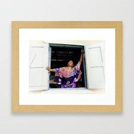 Jamaican Holiday Framed Art Print