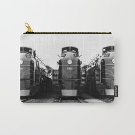Three of a Kind Train Locomotives - Trois locomotives du même genre  Carry-All Pouch