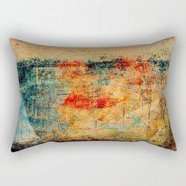 Bateau Dans La Brume Rectangular Pillow