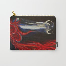 Red and Blue Horse Carry-All Pouch