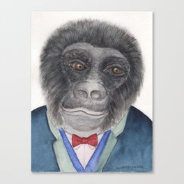 Tuco Brown the Gorilla Canvas Print