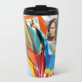 In Vector We Trust Travel Mug
