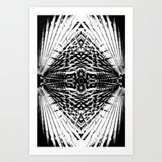 Starship Palm Art Print