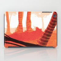 forrest iPad Cases featuring Dawn forrest by Rafael T. Pimentel