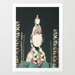 VIAJERA ESPACIAL // OBERHEIMI  Art Print