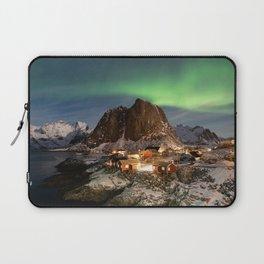 Northern Lights Over Hamnøy Laptop Sleeve