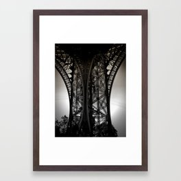 Eiffel Tower Detail Framed Art Print