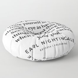 45  |  Earl Nightingale Quotes | 190829 Floor Pillow