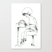 study Canvas Prints featuring Study by Arkories