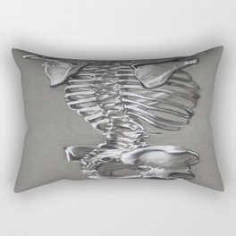 Anatomical Study #1 Rectangular Pillow