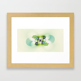 Decorated Infinity Citrus Framed Art Print