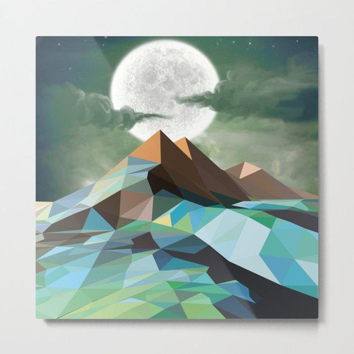 Night Mountains No. 3 Metal Print