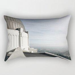 Griffith Park Overlook Rectangular Pillow