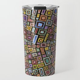 Squares Dancing Travel Mug
