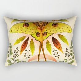 Moth Wings IV Rectangular Pillow