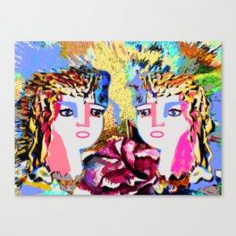 Girl Friends Canvas Print