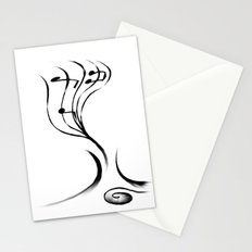 Notes in a Tree Stationery Cards