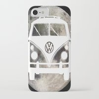 volkswagon iPhone & iPod Cases featuring Moon Wagon by Isaak_Rodriguez