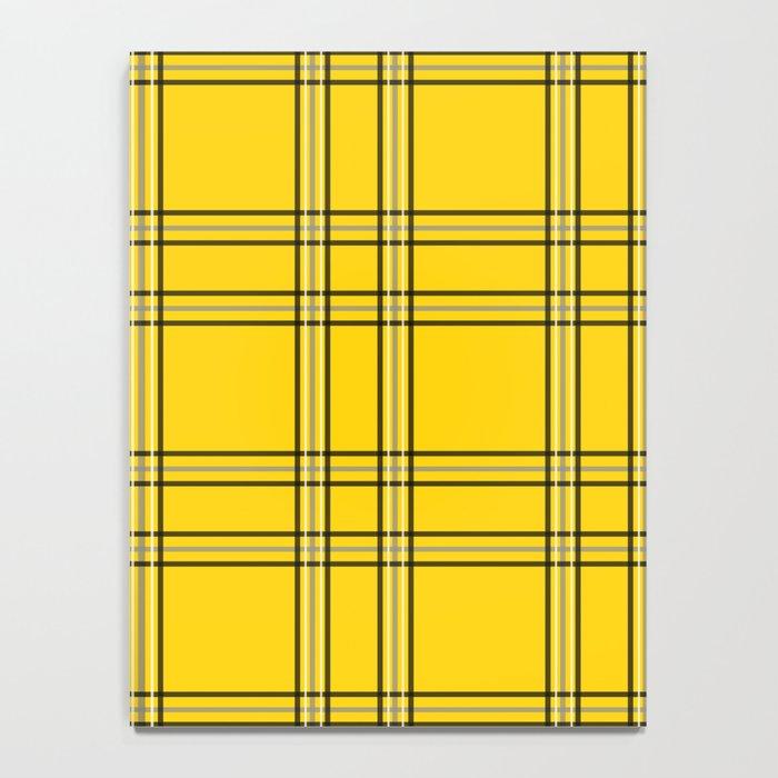 Clueless Plaid Notebook
