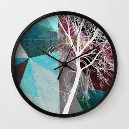 LONELY TREE III Wall Clock