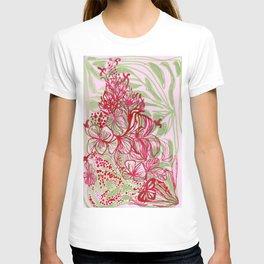 HIBISCUS TANGLE T-shirt