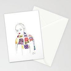 Rainbow Crochet Stationery Cards