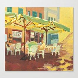 Lunch in Varenna Canvas Print