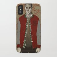 stiles iPhone & iPod Cases featuring Stiles Alpha by Sudjino