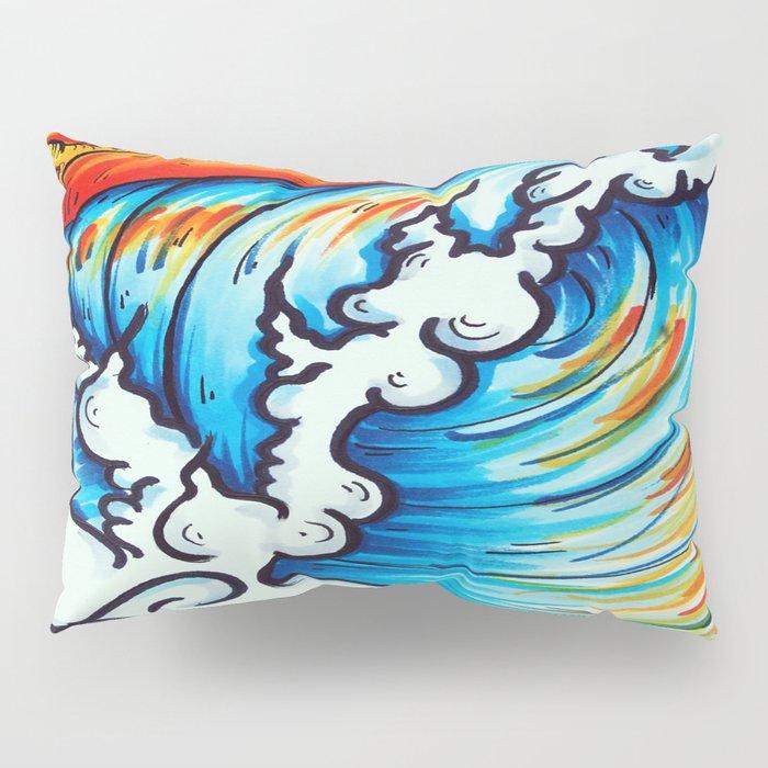 Sublime Wave  Pillow Sham