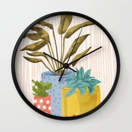Little Garden || Wall Clock