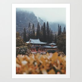 Sacred Temple Art Print