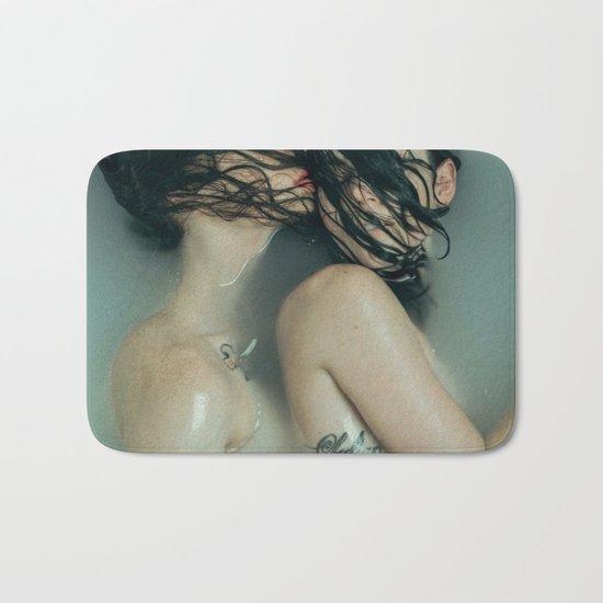 modern love Bath Mat