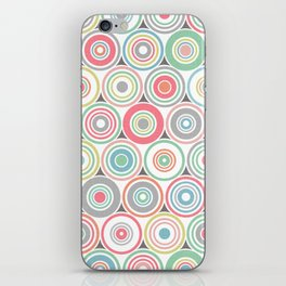 Concentric Circles iPhone Skin
