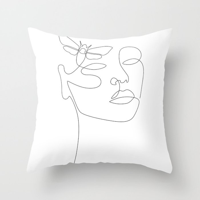 Give Me Wings Throw Pillow