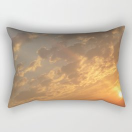 Sun in a corner Rectangular Pillow