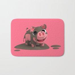 Rosa the Pig loves the Mud Bath Mat