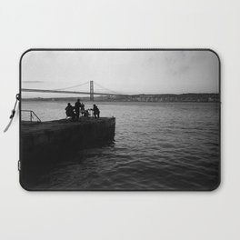 Lisbon by the River Laptop Sleeve