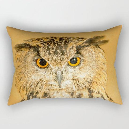 OWL RIGHT ON THE NIGHT Rectangular Pillow