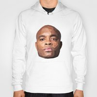 wes anderson Hoodies featuring Anderson Silva Vector by QUAPEX