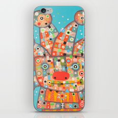Clown with Flower iPhone Skin