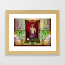 """THE OMEGA """"The Bloody Truth"""" Framed Art Print"""