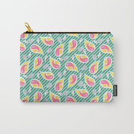 Modern paisley Carry-All Pouch
