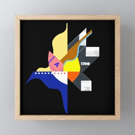 Rorschach Framed Mini Art Print
