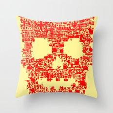 8-bitter Throw Pillow