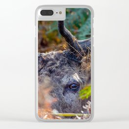Hiding. Clear iPhone Case